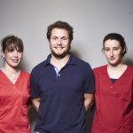 Dr Vincent Bousquet et ses assistantes