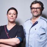 Dr Michel Laclavetine et son assistante