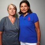 Dr Anne Bousquet et son assistante